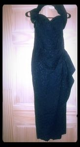 Vivien of Holloway sarong dress with boned chest